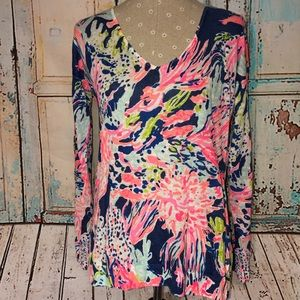 LILLY PULITZER~Leisel Sunken Treasure Sweater~S